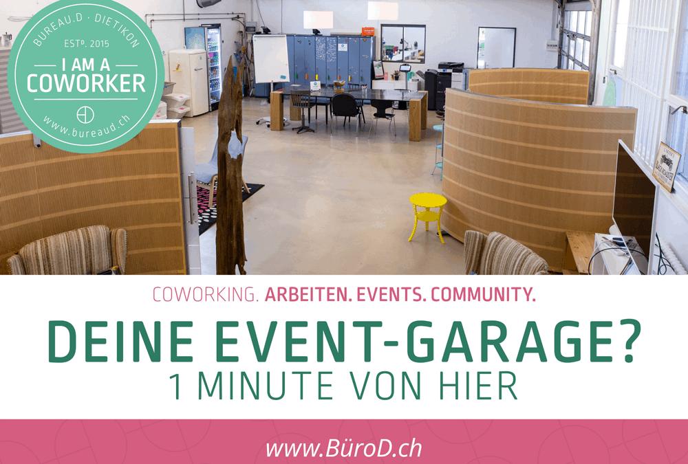 Event-Garage Dietikon | Unsere Kino-Werbung ist live!