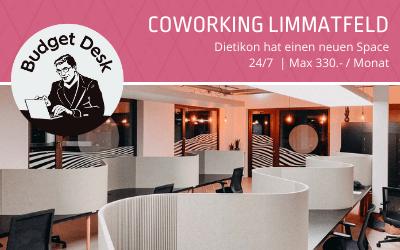 Coworking Dietikon: Hoi Budget Desk